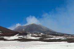 Surroundinngs del monte Etna, Sicilia foto de archivo libre de regalías