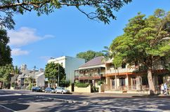 Surry Hills, Сидней Стоковая Фотография