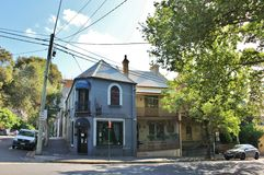 Surry Hills Sydney royaltyfri bild