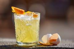 Surt för whisky i solljuset arkivbild