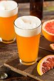 Surt grapefrukthantverköl arkivbild