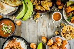 Surtido de Africa Occidental de la comida imagen de archivo libre de regalías