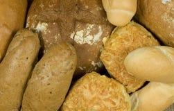 Surtido de diversa panadería Fotos de archivo