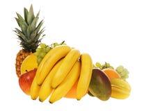 Surtido de frutas frescas Fotografía de archivo
