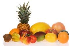 Surtido de frutas frescas Fotos de archivo