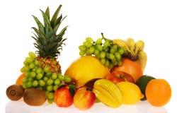 Surtido de frutas frescas Fotografía de archivo libre de regalías