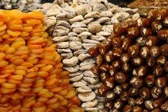 Surtido de frutas secadas Imagen de archivo libre de regalías