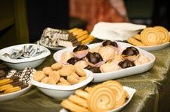 Surtido de galletas Fotografía de archivo