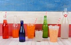 Surtido de la bebida Fotografía de archivo