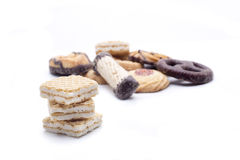 Surtido de las galletas Foto de archivo