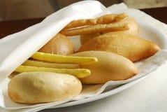 Surtido de pan italiano Imagen de archivo libre de regalías