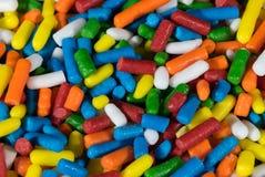 Surtido de pedazos coloridos del caramelo Imágenes de archivo libres de regalías