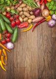 Surtido de verduras frescas Imagen de archivo libre de regalías
