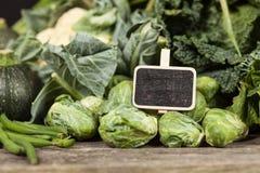 Surtido de verduras verdes Imágenes de archivo libres de regalías