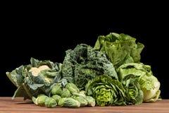 Surtido de verduras verdes Foto de archivo