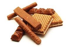 Surtido del chocolate fotos de archivo libres de regalías