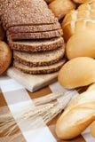 Surtido del pan Imagen de archivo libre de regalías