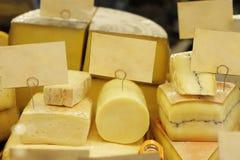 Surtido del queso fotografía de archivo