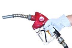 Surtidor de gasolina. Imagenes de archivo
