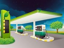 Surtidor de gasolina ilustración del vector