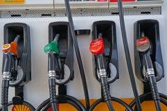 Surtidor de gasolina Imágenes de archivo libres de regalías
