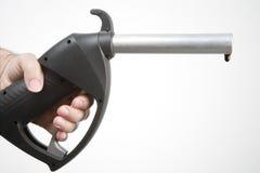 Surtidor de gasolina Fotografía de archivo