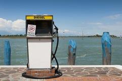 Surtidor de gasolina foto de archivo