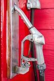 Surtidor de gasolina Foto de archivo libre de regalías