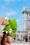 Surtidor de gasolina de Eco Foto de archivo