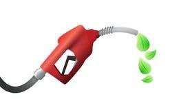 Surtidor de gasolina. diseño del ejemplo del combustible del eco Fotos de archivo