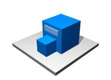 Surtidor - diagrama industrial de la fabricación Fotografía de archivo libre de regalías