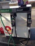 Surtidores de gasolina Fotografía de archivo libre de regalías