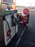 Surtidores de gasolina Fotografía de archivo