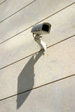 Surveilance camera. A surveilance camera. Big brother is watching you stock photography