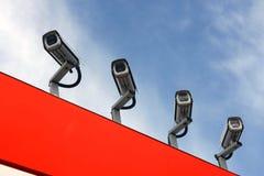 Surveillance Image stock