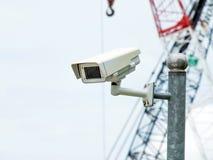 Surveillance autour de l'horloge Image libre de droits