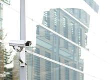 Surveillance autour de l'horloge Photos stock