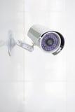 Surveillance autour de l'horloge Photos libres de droits