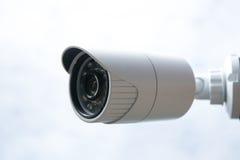 Surveillance autour de l'horloge Photo stock