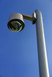 Surveillance cam. Security (surveillance) cam in a marina royalty free stock photo