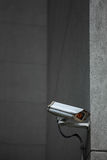 Surveillance Camera. CCTV Surveillance Camera on a building Wall Royalty Free Stock Photography