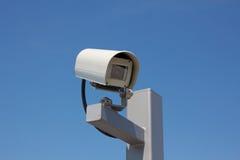 Surveillance Camera Facing Right Royalty Free Stock Image