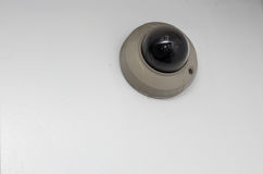 Surveillance camera isolated. Surveillance camera isolated on a white background Stock Photos