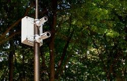 The surveillance camera Stock Photography