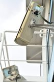 Surveillance camera on the ship Royalty Free Stock Photography