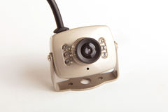 Surveillance  camera Royalty Free Stock Photography