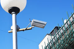 Surveillance Camera and surveillance Stock Image