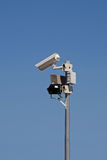 Surveillance camera system Stock Photography