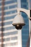 Surveillance Cameras of Office Building Stock Photos
