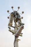 Surveillance cameras Stock Image